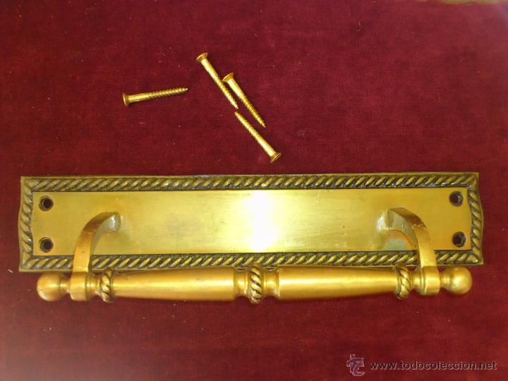 TIRADOR PARA PUERTA EXTERIOR (Antigüedades - Técnicas - Cerrajería y Forja - Tiradores Antiguos)
