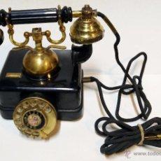 Teléfonos: TELEFONO SOBREMESA CTNE R.I.B. S-400718. UNA 8021 A ECUALIZADO. FABRICADO POR ELASA - ESPAÑA. VER. Lote 49410267