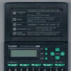 Antigüedades: CALCULADORA CASIO DATA BANK DC-2000 130 PUBLICIDAD BANCO SABADELL ANTIGUA RARA. Lote 49431783