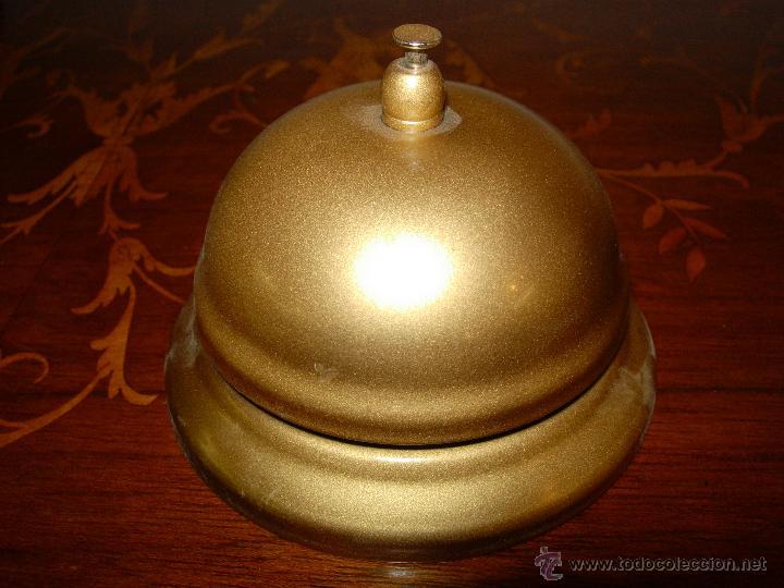 Antigüedades: Llamador Timbre de hotel, metálico - Foto 2 - 130401650