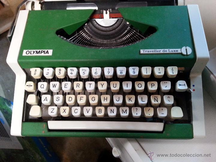 MAQUINA OLYMPIA - TRAVELLER DE LUXE (Antigüedades - Técnicas - Máquinas de Escribir Antiguas - Olympia)