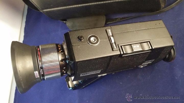 Antigüedades: Cámara super 8 Mirage M4 power zoom. incluye maletín - Foto 2 - 49451172