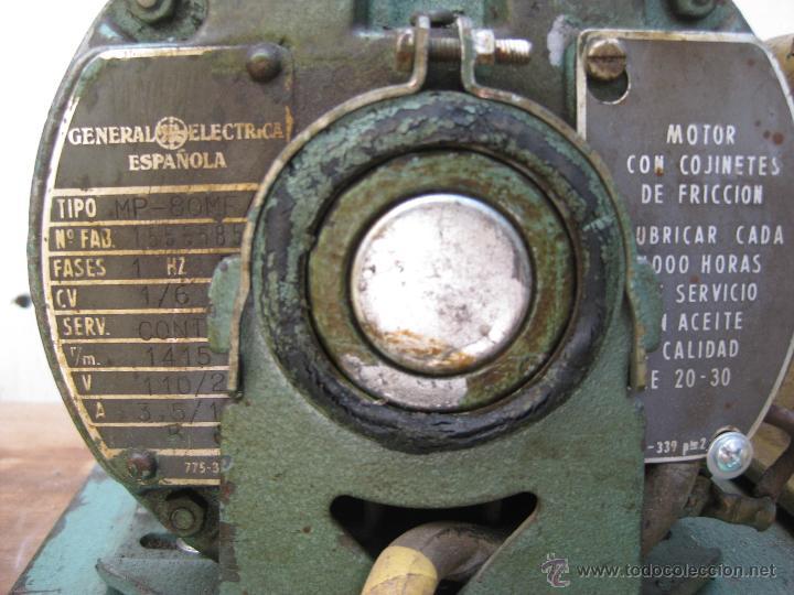 Antigüedades: FANTASTICA MAQUINA INDUSTRIAL COPIA LLAVES LINCE ELORRIO GENERAL ELECTRICA ESPAÑOLA IDEAL DECORACION - Foto 5 - 49479600