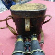 Antigüedades: ANTIGUOS PRISMÁTICOS TIPO EXPLORADOR EN SU ESTUCHE ORIGINAL, FIN DEL SIGLO XIX. Lote 49484020