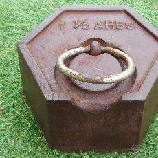 Antigüedades: PESA , PONDERALES . . .. Lote 49507459