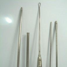 Antigüedades: LOTE INSTRUMENTAL MEDICO QUIRURGICO - LLAVES RASCADOR - M - 5 PIEZAS ¡¡ ALTA CALIDAD ¡¡¡. Lote 49511887