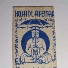 Antigüedades: HOJA DE AFEITAR PARAGUAS. Lote 49559647