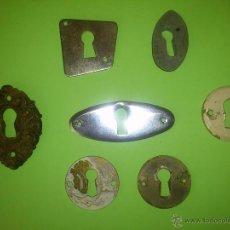 Antigüedades: BOCALLAVES VARIOS. Lote 49608926