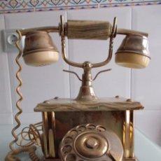 Teléfonos: TELÉFONO ITALIANO MÁRMOL DE CARRARA, AÑOS 50/60. Lote 49627128