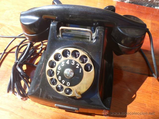TELÉFONO DE BAQUELITA ERICSSON (Antigüedades - Técnicas - Teléfonos Antiguos)