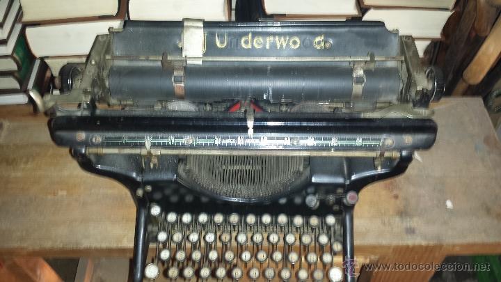 MAQUINA ESCRIBIR UNDERWOOD (Antigüedades - Técnicas - Máquinas de Escribir Antiguas - Underwood)