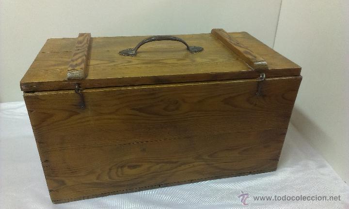 Muy antigua caja de madera posiblemente para h comprar - Herramientas de madera ...
