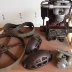 Antigüedades: ANTIGUO COMPRESOR DENTAL - MARCA RITTER - 1910 - FABRICADO ALEMANIA - PONGO 35 FOTOS. Lote 49756043