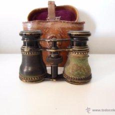 Antigüedades: ANTIGUOS PRISMATICOS CON FUNDA MARCA M.G. AGRAM BURO. Lote 49848642