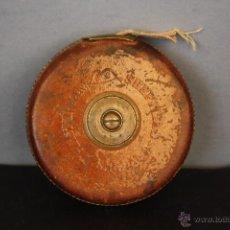 Antigüedades: CINTA MÉTRICA INGLESA SHEFFIELD ENGLAND CHESTERMAN. Lote 49852424