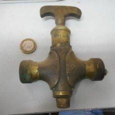 Antigüedades: BONITO GRIFO TIPO TONEL VINO PERO COMO LLAVE DE PASO. Lote 49852817