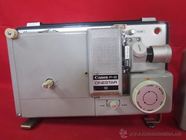 CINESTAR CANON P-8 S. REPRODUCTOR DE SUPER 8 EN BUEN ESTADO. (Antigüedades - Técnicas - Aparatos de Cine Antiguo - Proyectores Antiguos)