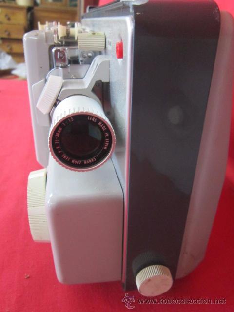 Antigüedades: Cinestar Canon P-8 S. Reproductor de super 8 en buen estado. - Foto 3 - 49867113
