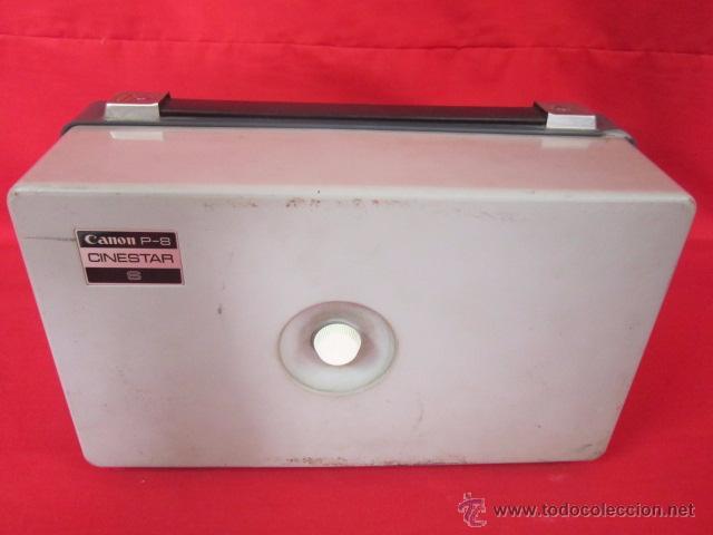 Antigüedades: Cinestar Canon P-8 S. Reproductor de super 8 en buen estado. - Foto 5 - 49867113