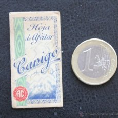 Antigüedades: CUCHILLA CANIGO BLADE HOJA DE AFEITAR. Lote 49870052