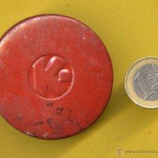 Antigüedades: CAJA METALICA K. Lote 49870881