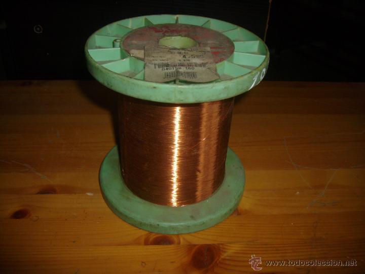 CABLE HILO DE COBRE ESMALTADO 0,150 (Antigüedades - Técnicas - Herramientas Profesionales - Electricidad)