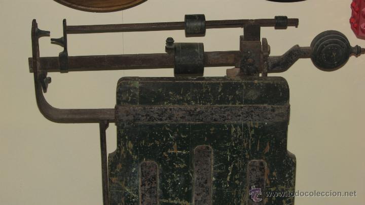 Antigüedades: ANTIGUA BÁSCULA DE ALMACEN - Foto 2 - 50019597