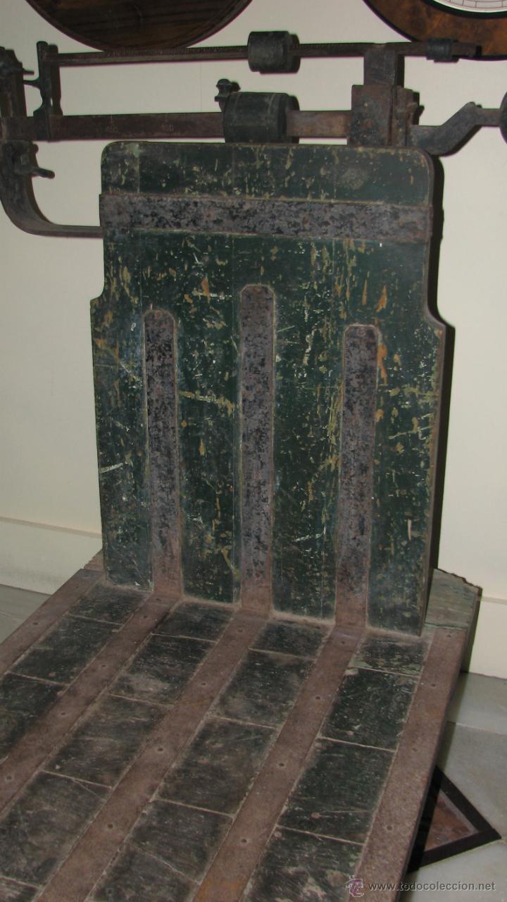 Antigüedades: ANTIGUA BÁSCULA DE ALMACEN - Foto 4 - 50019597