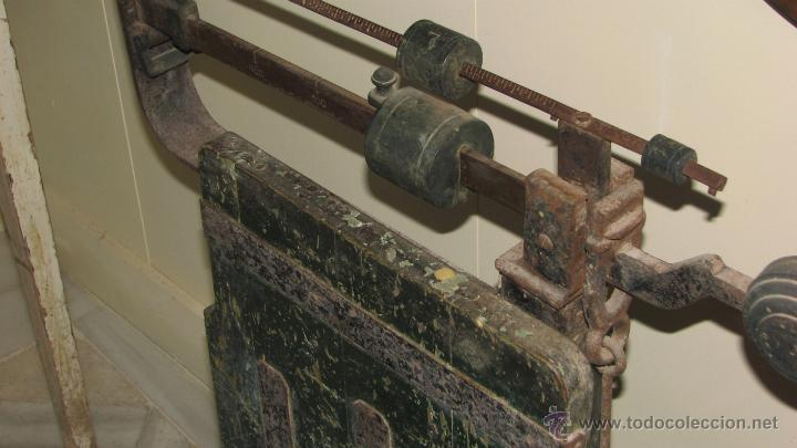 Antigüedades: ANTIGUA BÁSCULA DE ALMACEN - Foto 5 - 50019597