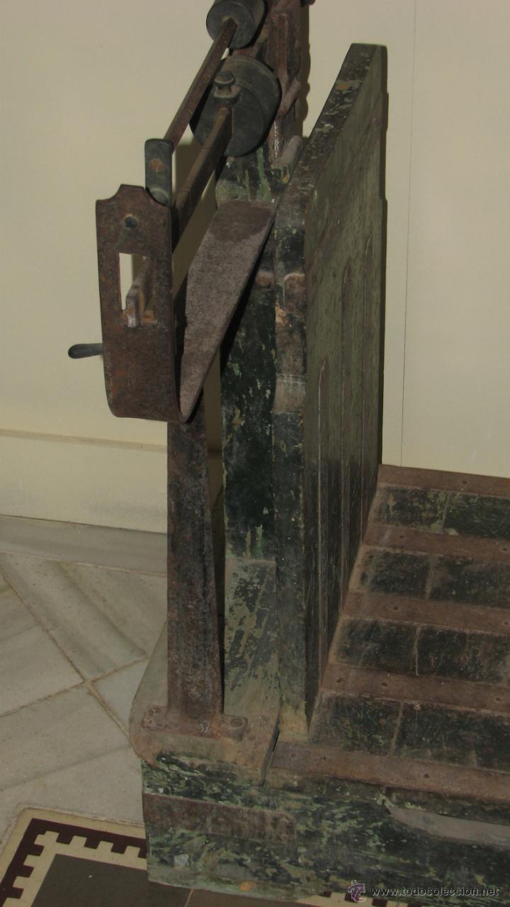 Antigüedades: ANTIGUA BÁSCULA DE ALMACEN - Foto 8 - 50019597