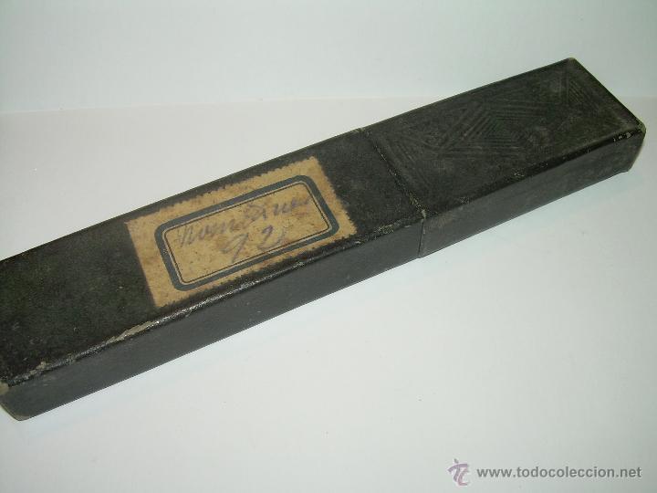 Antigüedades: ANTIGUA NAVAJA CON SU CAJA ORIGINAL......SOLINGEN. - Foto 7 - 50036061