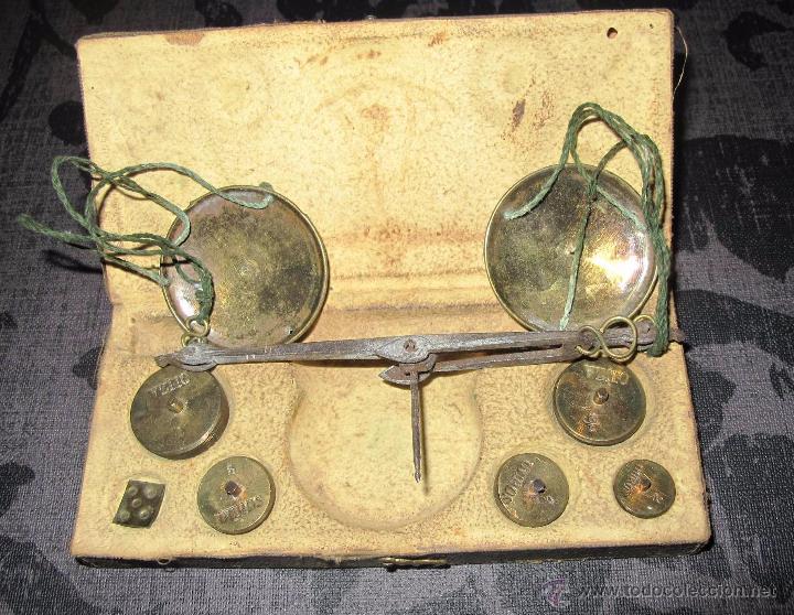 PONDERAL PRIMERA MITAD SIGLO XIX (Antigüedades - Técnicas - Medidas de Peso - Ponderales Antiguos)