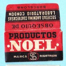 Antiguidades: HOJA DE AFEITAR. PRODUCTOS NOEL. OBSEQUIO DE SOCIEDAD ANONIMA CUATRECASAS. LABORATORIO CONDOM, S/F.. Lote 50085064