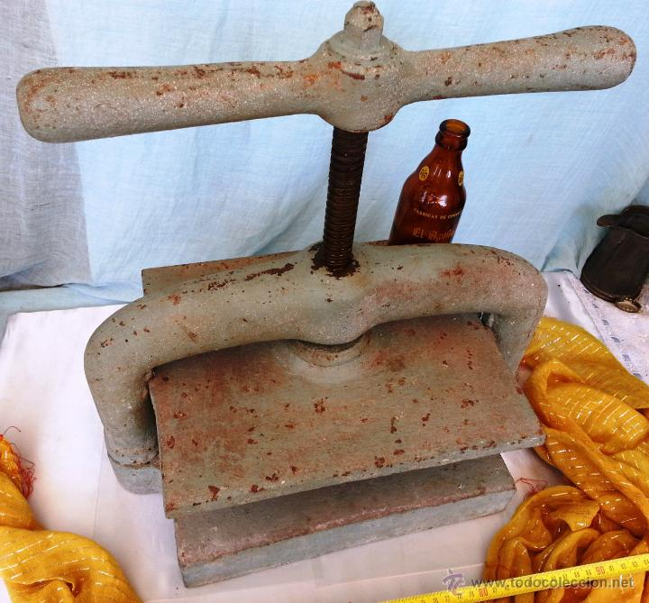 Antigüedades: PRENSA MANUAL DE IMPRENTA. - Foto 3 - 50116010
