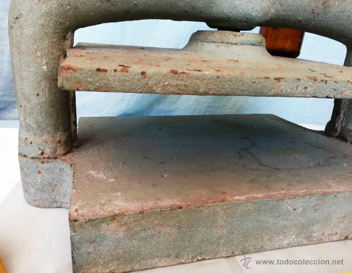 Antigüedades: PRENSA MANUAL DE IMPRENTA. - Foto 6 - 50116010
