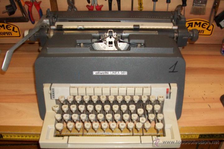 ANTIGUA OLIVETTI LINEA 98-AÑOS 1970 (Antigüedades - Técnicas - Máquinas de Escribir Antiguas - Olivetti)