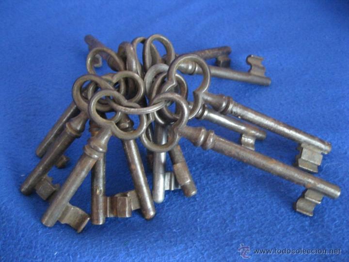Antigüedades: Lote de llaves alemanas de mediados del siglo XX - Foto 2 - 50141157