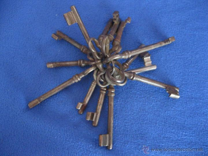 Antigüedades: Lote de llaves alemanas de mediados del siglo XX - Foto 3 - 50141157