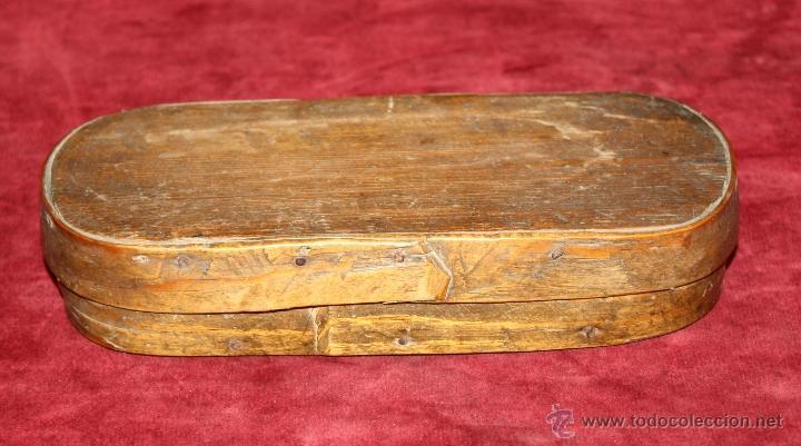 Antigüedades: BALANZA DE PRECISIÓN PARA PESAR MONEDA DE ORO DEL SIGLO XVIII-XIX - Foto 6 - 50144174