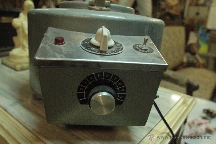 Antigüedades: Antigua centrifugadora química, procedente de laboratorio. Funcionando correctamente - Foto 5 - 50165094