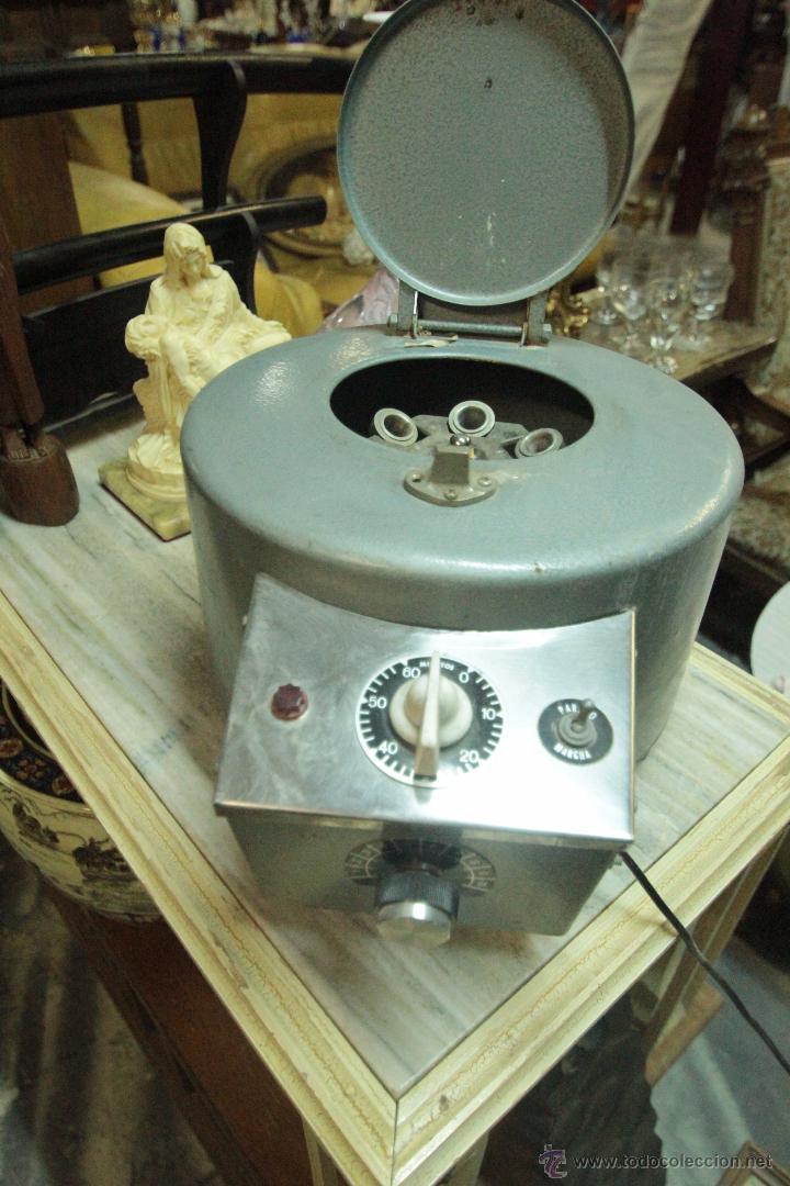 Antigüedades: Antigua centrifugadora química, procedente de laboratorio. Funcionando correctamente - Foto 6 - 50165094