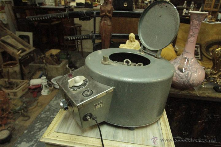 Antigüedades: Antigua centrifugadora química, procedente de laboratorio. Funcionando correctamente - Foto 7 - 50165094