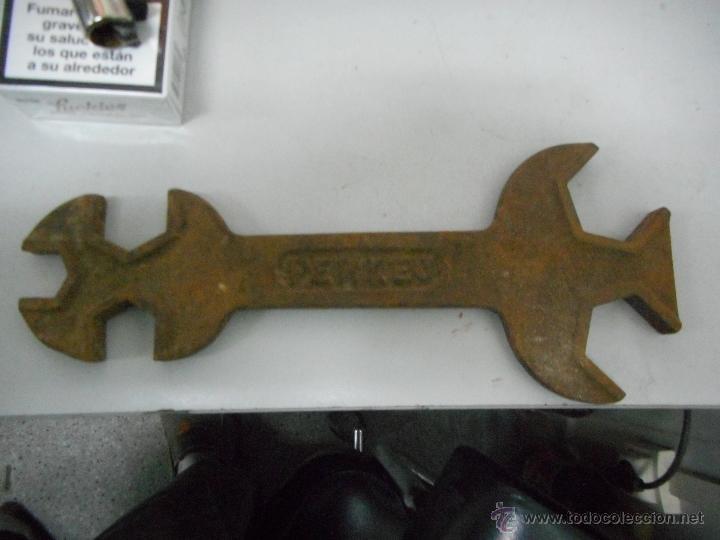 PRECIOSA JUEGO LLAVE FIJA MARCA PERKEO (Antigüedades - Técnicas - Herramientas Profesionales - Mecánica)
