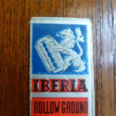 Antigüedades: F 3115 HOJA DE AFEITAR IBERIA HOLLOW GROUND ACANALADA - BASSAT SA. BARCELONA. Lote 50194000