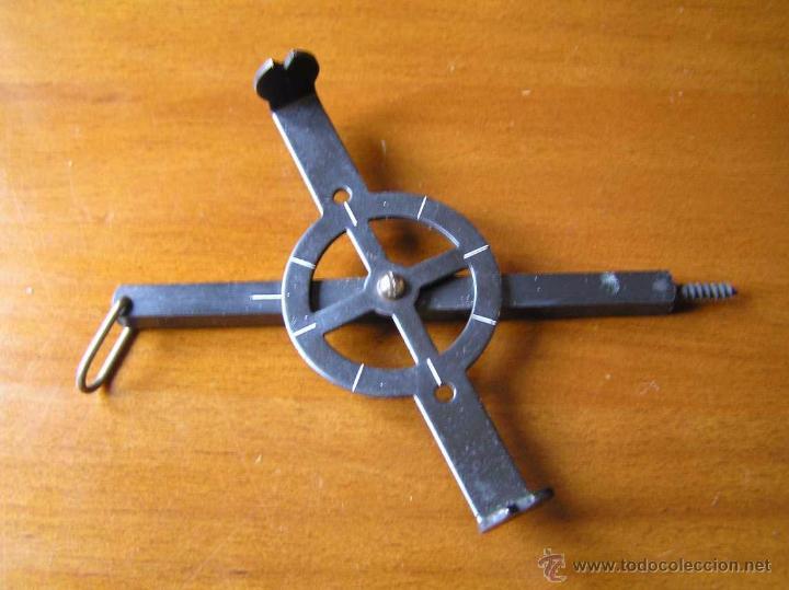 Antigüedades: ANTIGUO MEDIDOR DE AGRIMENSOR TOPÓGRAFO PHILIPS POCKET SURVEYOR 1928 TOPOGRAFIA PHILIPS - Foto 9 - 50218626