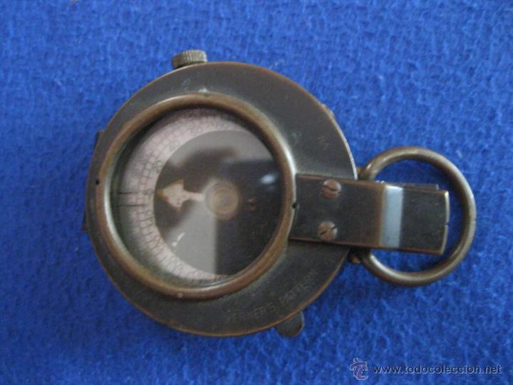 Antigüedades: Brújula suiza con tapa, de 1917. - Foto 2 - 50248833