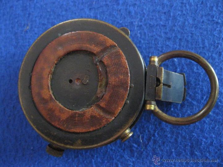 Antigüedades: Brújula suiza con tapa, de 1917. - Foto 3 - 50248833