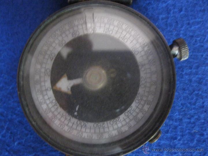 Antigüedades: Brújula suiza con tapa, de 1917. - Foto 7 - 50248833