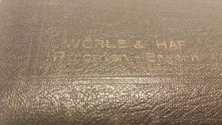 Antigüedades: ANTIGUO ESTUCHE DE COMPASES WORLE & HAF BAYERN- ALEMANIA MEDIADOS SIGLO XX - Foto 3 - 50253397