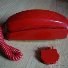 Teléfonos: ANTIGUO TELEFONO ROJO GONDOLA, HECHO POR CITESA MALAGA. Lote 50254454